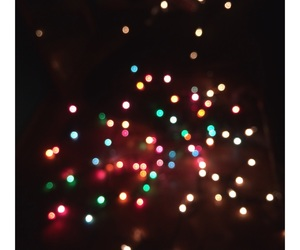 christmas, lights, and luces image