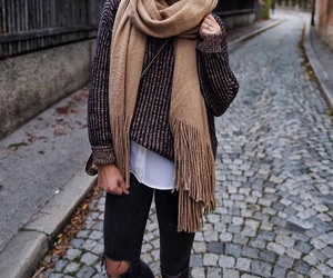 autumn, clothes, and december image