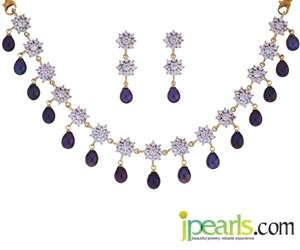 pearl necklace, pearl necklace designs, and pearls jewellery image