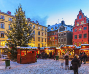 christmas, sweden, and amitrips image