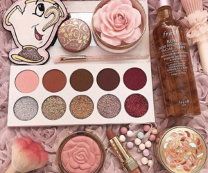 beauty and the beast, makeup, and blush image