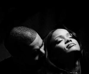 Drake, rihanna, and wallpaper image