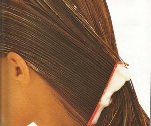 clean, hair, and shampoo image