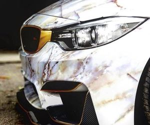 bmw, m4, and marble image