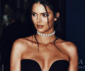 black, model, and kardashian image