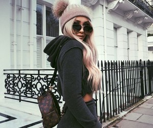 backpack, fashion, and look image