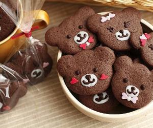 bear, chocolate, and eat image