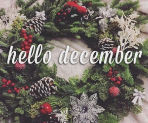december, christmas, and hello december image