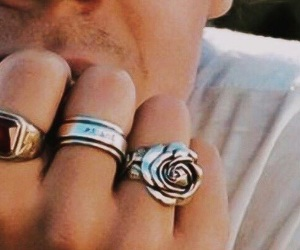 details, Harry Styles, and rings image