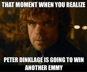 gameofthrones, tyrionlannister, and peterdinklage image