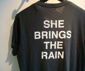 black, fashion, and rain image