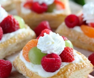 delicious, dessert, and fruit image