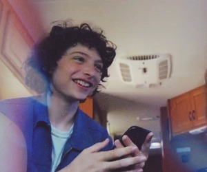 it, finn wolfhard, and stranger things image