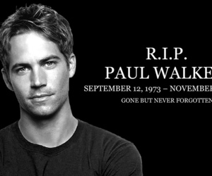 paul walker and r.i.p image