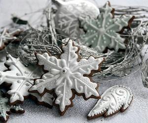 christmas, food, and snow image