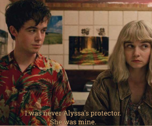 Alyssa, protect, and quotes image