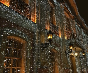 lights, beautiful, and christmas image