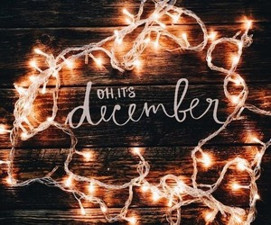 december, christmas, and light image