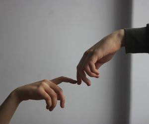hands, tumblr, and art image