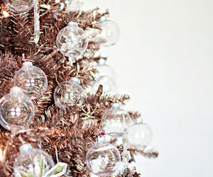 christmas and rose gold image