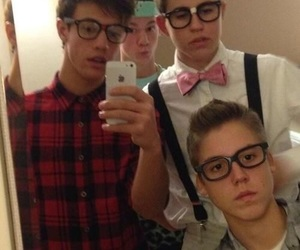 cameron dallas, nash grier, and magcon image