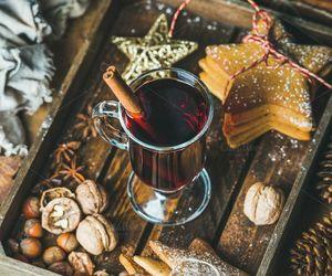 christmas, brown, and food image