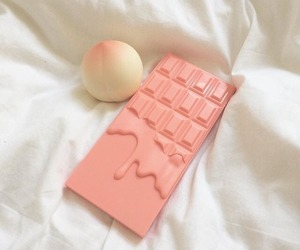 aesthetic, peach, and pink image