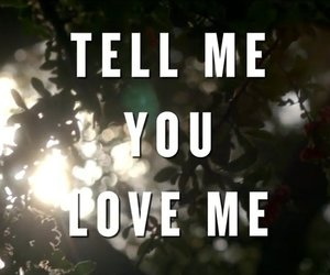 demi lovato and tell me you love me image