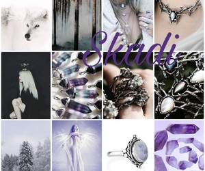 crystals, witch, and incense image