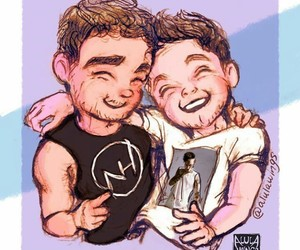 fanart, liam payne, and niall horan image