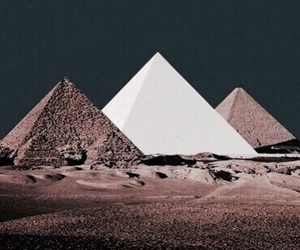 pyramid, egypt, and theme image