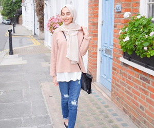beautiful, hijab, and outfit image