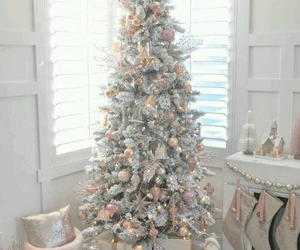 christmas, christmas tree, and white image