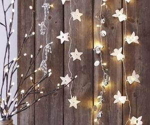 light, christmas, and stars image