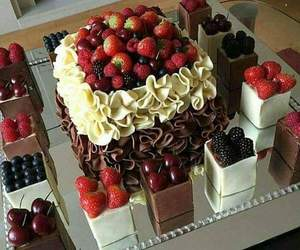 cake, yummy, and deliciously image