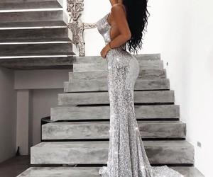 dress, fashion, and nails image