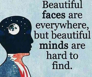 mind, quotes, and face image