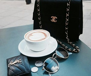 coffee, fashion, and chanel image