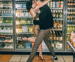 halsey, couple, and g-eazy image