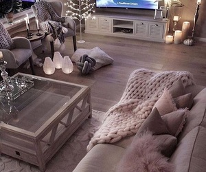 comfy, lights, and winter image