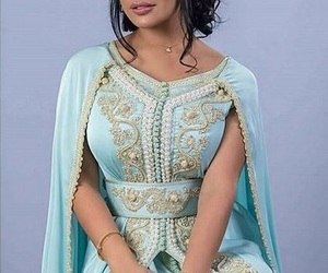 arabic, Bleu, and blue image