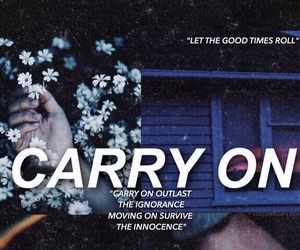 carry on, 5sos, and Lyrics image