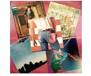 album, springsteen, and eagles image