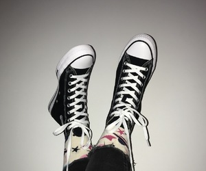 aesthetic, allstar, and black image