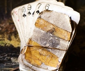 cards, numbers, and playing cards image