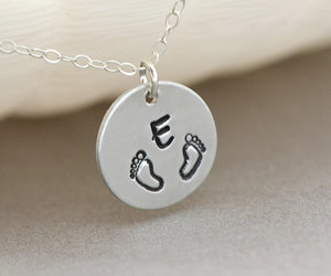 etsy, personalized, and mommy necklace image