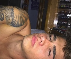 boy, Hot, and Tattoos image