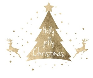 wallpaper, christmas, and gold image