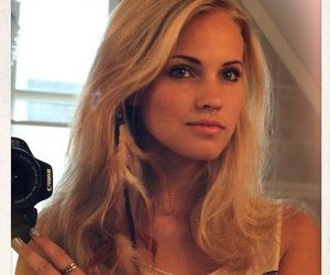beautiful, blonde, and emilie image