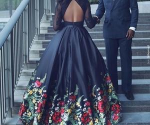 love, black, and dress image